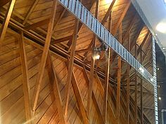 Cool roof trusses