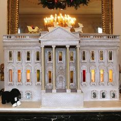 Gingerbread White House!