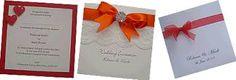 Image result for orange and purple wedding invitations