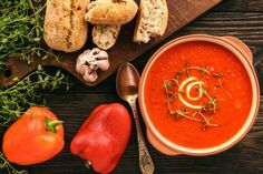 Roasted Red Pepper Soup – Best of Hungary