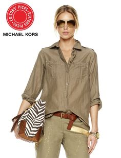I've said it before, and I'll say it again: I want to live in a Michael Kors ad.