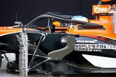 マクラーレン、空力フェアリングを搭載した独自版Haloをテスト  [F1 / Formula 1]