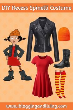 disneybound-diy-spinelli-recess-kostum/ - The world's most private search engine 90s Costume, Cool Halloween Costumes, Costume Dress, Halloween Diy, Geek Costume, Disney Outfits, Disneybound Outfits, Diy Disney Costumes, Disney Characters Costumes