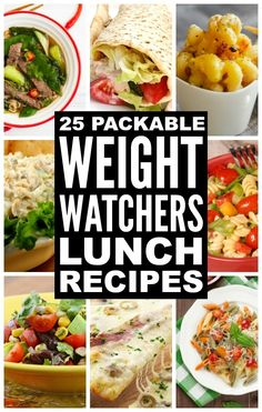 Looking for Weight Watchers lunch ideas and recipes with points? You've come to the right place. We've got heaps of make-ahead packed lunch ideas that are quick and easy to make, and that are perfect for work or while you're on the go. Enjoy! #weightlossmotivation