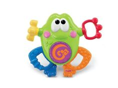 FISHER Price Silly Sounds Frog A cheerful frog thats full of fun-with music sounds and rewarding activities to keep baby busy and entertained!Requires 2 AA batteries.Busy activitiesPush pull turn slide ...baby looks  then makes fu http://www.MightGet.com/january-2017-12/fisher-price-silly-sounds-frog.asp