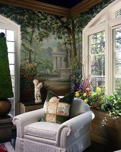 The Interior Edge - My garden Mural