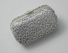Crystalline Clutch - Grey from Elizabeth Bower