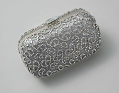 Crystalline Clutch - Grey from Elizabeth Bower