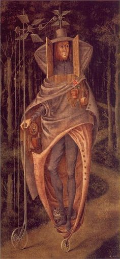 The World Beyond - Remedios Varo - WikiPaintings.org