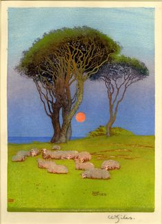 indigodreams:  William Giles Midsummer Night My blog posts