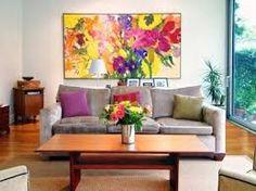 flower paintings in living room - Pesquisa Google