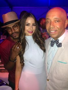Maxwell, Miss Universe & Russell Simmons Russell Simmons, Olivia Culpo, Singles Day, Good People, Hip Hop, Good Things, Celebrities, Awesome, Inspiration