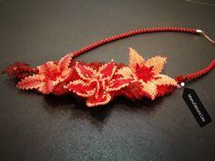 Necklace by Manufaktura Leo Leather Working, Friendship Bracelets, Leo, Crochet Necklace, Jewelry Making, Handmade, Hand Made, Jewellery Making, Make Jewelry