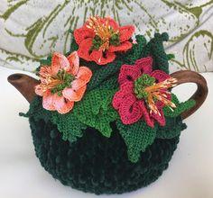 NEW Handmade Tea Cozy Summer Bouquet From Ukrainian Designer #Handmade