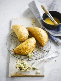 Empanada met oesterzwammen & mozzarella  http://www.njam.tv/recepten/empanada-met-oesterzwammen-mozzarella