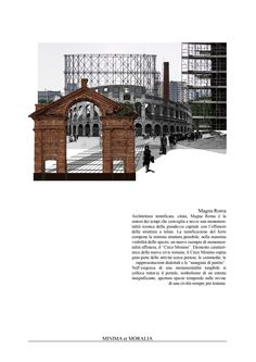 """""""minima et moralia"""" 004 - by Carlalberto Amadori architecture collage on contemporary urban issue"""