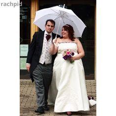 LollyLikesFATshion: 105 Plus/Fat Bride/Groom - Meet Rachel & Pete