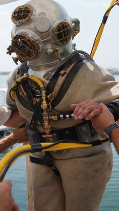 Deep Sea Diver, Underwater, Surfing, Helmet, Sea Diving, Hat, Women, Female, Diving