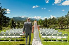 The Stanley Hotel - Choose from a variety of inclusive wedding packages to help make your wedding planning simple and stress-free. Colorado Wedding Venues, Outdoor Wedding Venues, Wedding Ceremony, Hotel Wedding Packages, All Inclusive Wedding Packages, Estes Park Hotels, Perfect Wedding, Dream Wedding, The Stanley Hotel