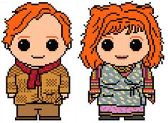 Harry Potter: Arthur and Molly Weasley Chart Pattern