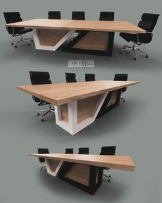Outside the Box.  100% Custom Conference Tables + Executive Desks Designed + Built in Illinois  Ideal in Modern Workplaces x Modern Homes  DM, Email or Call us to get a Custom Desk x Table for your Home or Office!  iRcustom.com