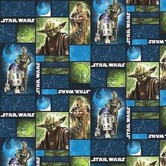 Star Wars Fabric by Camelot Cotton