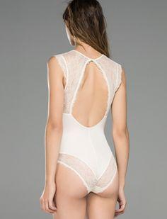 Body with lace details Women'secret