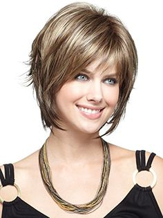 TRENDS® SW0866 Fashion Style Synthetic Short Layered Wigs -For Bald Women +A Free Wig Cap