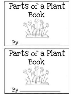 Parts of a Plant Book Differentiated (Read, Trace, Fill in the Blank) - Kindergarten Bliss - TeachersPayTeachers.com