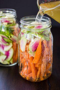 Carrot and Watermelon Radish Pickle | The Bojon Gourmet