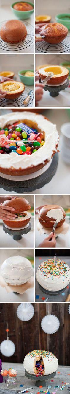 Montar bolo infantil 10