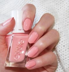 Power meets poise. In this fierce coral peach pink nail polish, have it all without moving a muscle. Introducing the NEW gel couture ballet nudes collection shade 'hold the position'. Shop this stunning shade here: http://www.essie.com/gel-couture/colors/Neutrals/hold-the-position.aspx