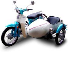 Classic Honda cub