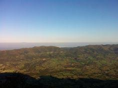 Θέα από το όρος Σκόλλις στην Αχαΐα! View from the top of Skollis Mountain in Achaea, Greece