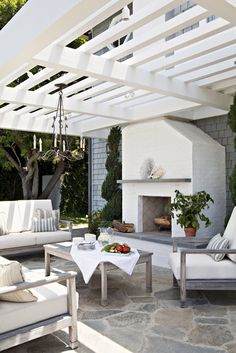 gorgeous outdoor living area