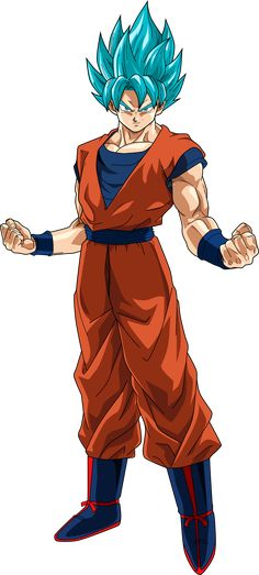 Kid Goku GT Super Saiyan God by el-maky-z on DeviantArt Goku Y Vegeta, Son Goku, Super Saiyan Blue 3, Goku Super, Goku Blue, Goku Transformations, Evil Goku, Dragon Z, Bilal