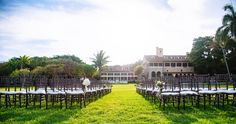 Deering Estate Wedding Ceremony #YourMiamiWedding