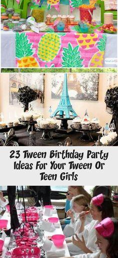 23 Tween Birthday Party Ideas For Your Tween Or Teen Girls - Gender Neutral  23 Tween Birthday Party Ideas for Your Tween or Teen Girls – DIY & Crafts #Winterpartyideas #BBQp #Birthday #Gender #Girls #Ideas #Neutral #Party #teen #Tween