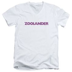 """Checkout our #LicensedGear products FREE SHIPPING + 10% OFF Coupon Code """"Official"""" Zoolander / Logo - Short Sleeve Adult V-neck - Zoolander / Logo - Short Sleeve Adult V-neck - Price: $34.99. Buy now at https://officiallylicensedgear.com/zoolander-logo-short-sleeve-adult-v-neck"""