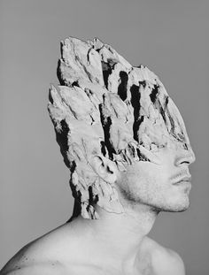 The photo collage series 'Simulations' by californian artist Alexandra Bellissimo combines human beings with nature in order to create a certain emotion or feeling. Distortion Photography, A Level Photography, Figure Photography, Mixed Media Art, Mix Media, Ap Art, Dream Art, Human Nature, Black And White Pictures