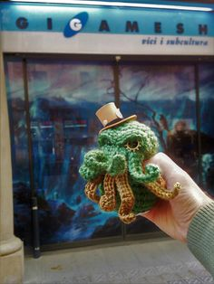 CTHULHU STEAMPUNK ARTE 10 cm horror cosmico Lovecraft