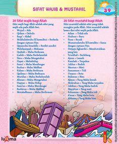 Download Ebook 20 Sifat Wajib dan 20 sifat Mustahil Bagi Allah Hadith Quotes, Muslim Quotes, Doa Islam, Islam Quran, Education Quotes, Kids Education, Islam For Kids, Religion Quotes, Islamic Posters