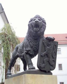 Czech lion.-Prague