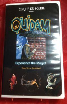 VHS Cirque Du Soleil QUIDAM