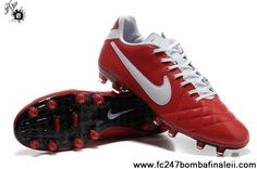 Best Gift Nike Tiempo Legend IV Elite FG Deep Red-White Soccer Boots For Sale