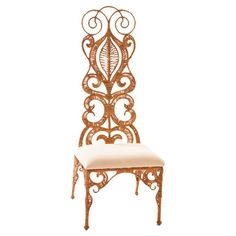 Found it at Wayfair - Rope Lace Slipper Chair
