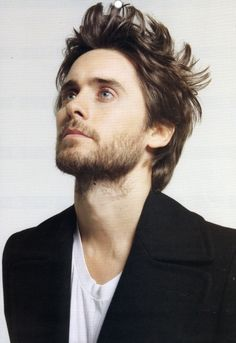 Jared Leto. Generally, he is gorgeous. With the long hair and eyeliner? Not so much.
