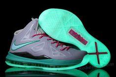 """Nike Lebron X (10) """"MVP in South Beach"""" Glow in the Dark"""