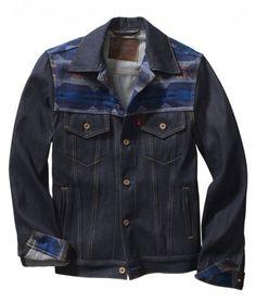 Levi s x Pendleton Rigid Trucker Pendleton Jacket, Denim Shirt, Jeans, Denim  Top, b7b79f96922