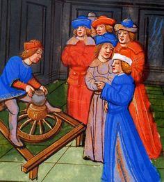 Artisans au Moyen Age!